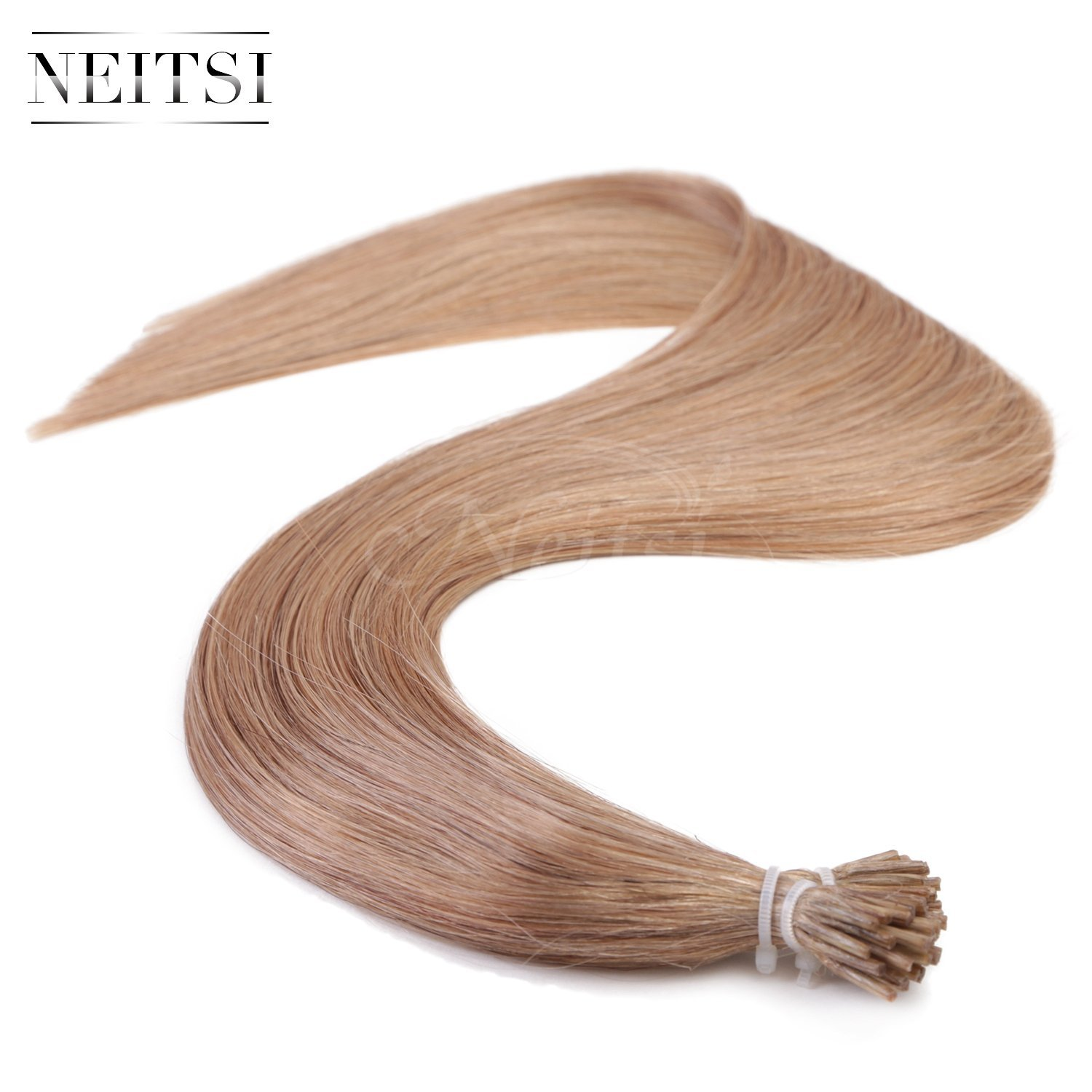 "Neitsi® 20"" 1g/s 25s/lot Fusion Glue I Tip/Stick Remy Human Hair Extensions (10#)"