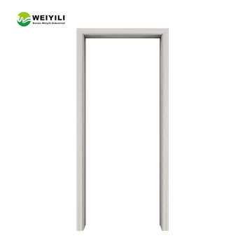 6 Panel Interior With Type 2017 Wooden China Wholesale Wood Door Frame