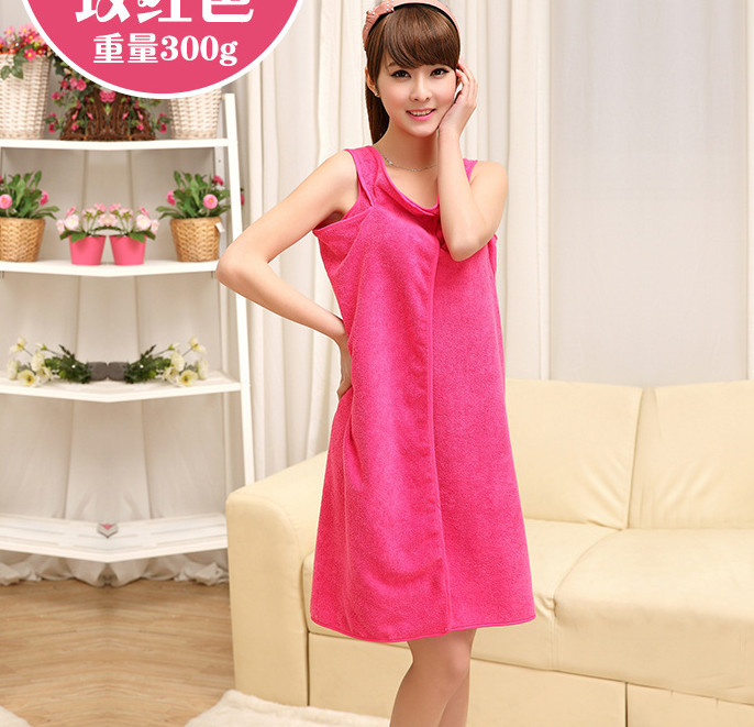 85c0455cb5 Women Bath Towels Fashion Lady Child Girls Wearable Fast Drying ...