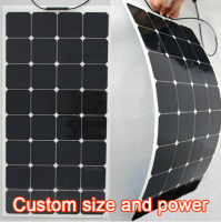 100W 18V Solar Panel Maxeon C60 21.8% High Efficiency Solar cell Charge