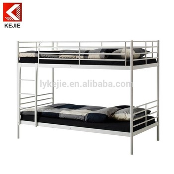 Double decker steel bed for export sale european double for European beds for sale