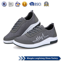 Factory wholesale can printing logo rubber pvc men shoes all brands casual shoes