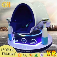 Shopping center low investment entertainment machine 9d vr game simulator e gg shape