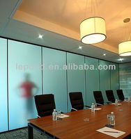 bathroom glass wall partition/glass curtain wall office