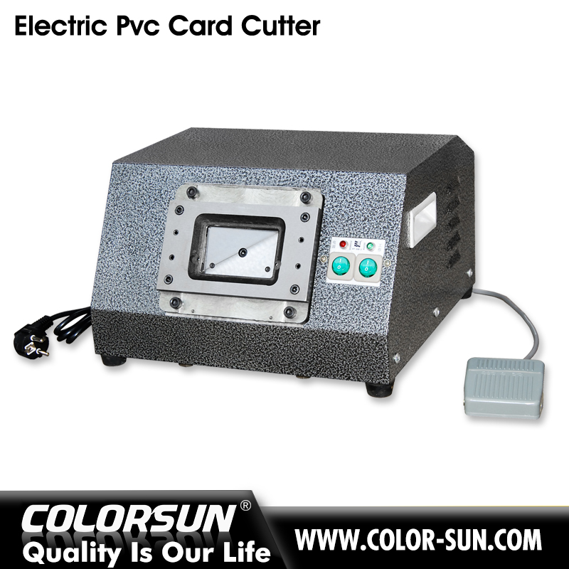 foot punch press card cutter of auto
