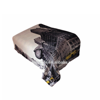 YiWu huangque supplier wholesale blanket 1 ply or 2 ply Full size 100% polyester hot sale stock used car for sale in milan italy