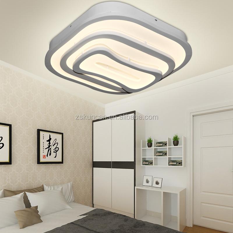 moderna lampada led soffitto dimmerabile per la decorazione camera ...