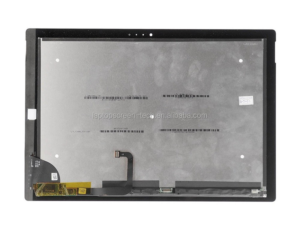 New TOM12H20 V1.1 replacement for Microst Surface Pro 3 screen assembly digitizer 1631 LTL120QL01