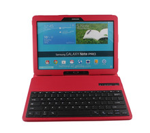 Litchi Pattern Customized Hot Selling wireless keyboard for tablet pc Samsung Note PRO 12.2inch P900-SA109