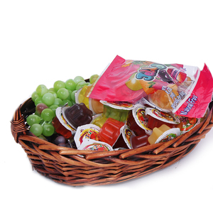 Natural confectionery halal sour candy in plastic bag packing