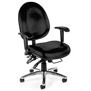 247 Series Vinyl Heavy Duty 24 Hour Ergonomic Chair