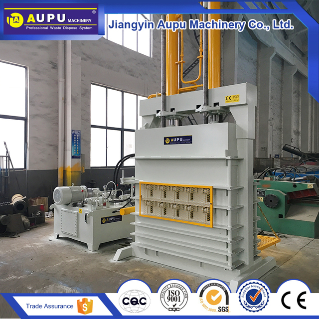 Cheap price waste baling scrap recycling compressed machine bale tires