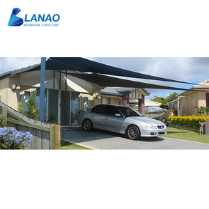 Tensile membrane fabric 10x20 two post carport canopy steel aluminum metal carports attached to house