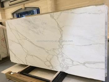Commercio allingrosso calacatta quarzo lastre piastrelle di pietra