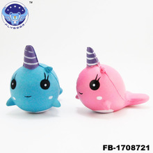 Whale Squishies Slow Rising Jumbo, 2018 Unicorn Whale Cartoon Scented Charm Slow Rising Squeeze Toy Charm