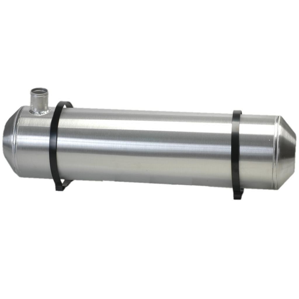 3//8 NPT Ratrod 5 Gallon Trike 10x16 Center Fill Spun Aluminum Gas Tank