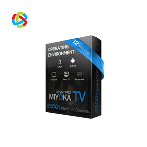 2019 Best IPTV M3U Abonnement 12 Months Miyokatv TV Subscription French Italy India Portugal Arabic Channels Support Free Test