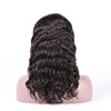 Qingdao hair factory hot selling natural wave lace frontal 360 wig for black women