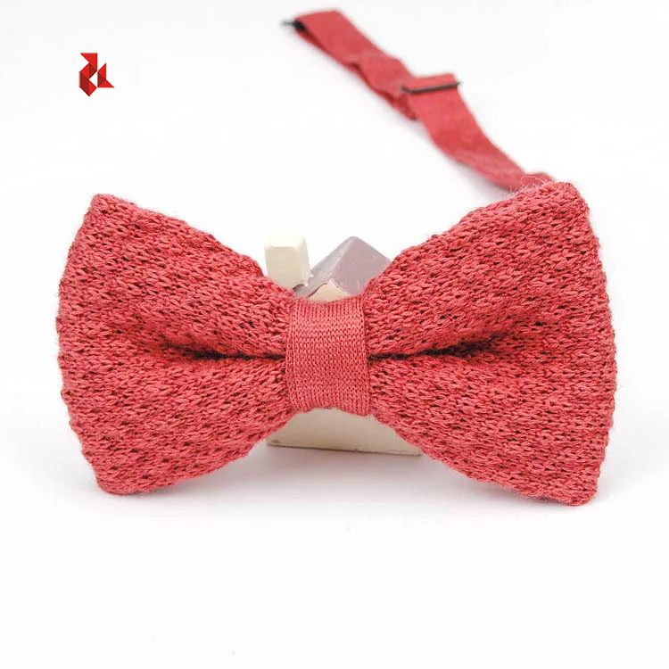 Luxury Quality Wool Knitted Bow Ties Hot Sale Mens Woolen Bowties