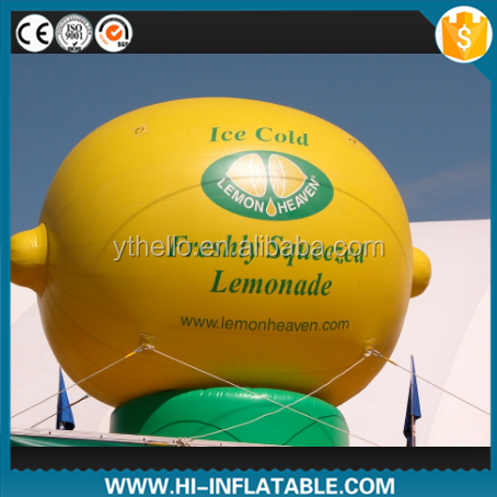 Hot sale inflatable lemon replica for sale/event/advertising