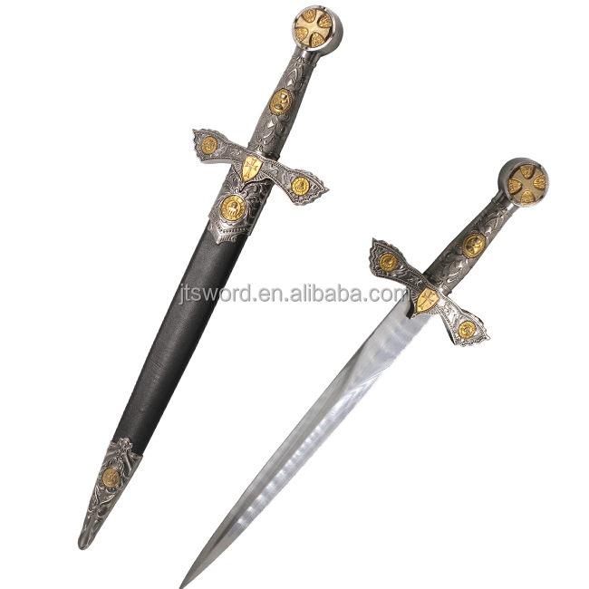 high quality antique Knight's Crusader short sword forged