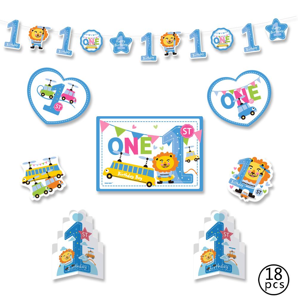 Desain Banner Ulang Tahun Anak Cowok - desain spanduk kreatif