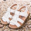 2016 Summer Genuine Leather Children Sandals Beach Footwear First Walker Toddler Kid Boys Shoes Children Girls