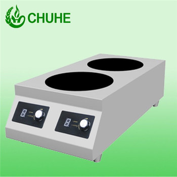 3 5kw 2 Kitchen Equipment Hybrid Induction Portable Burner
