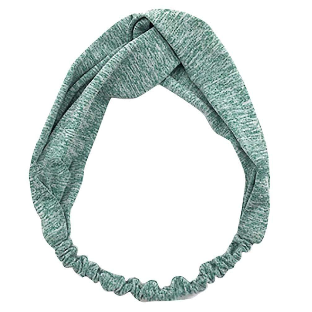 aee8bf6d3b16 Get Quotations · Elastic Boho Style Criss Cross Hairband