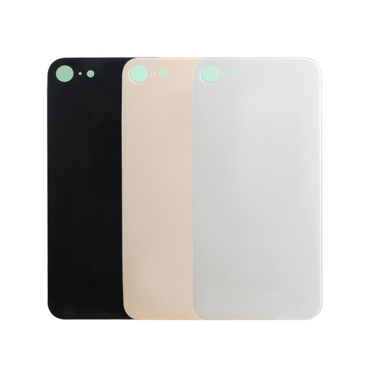 Replacement For Apple Iphone 8 Back Cover Housing Black Back Battery Cover Replacement