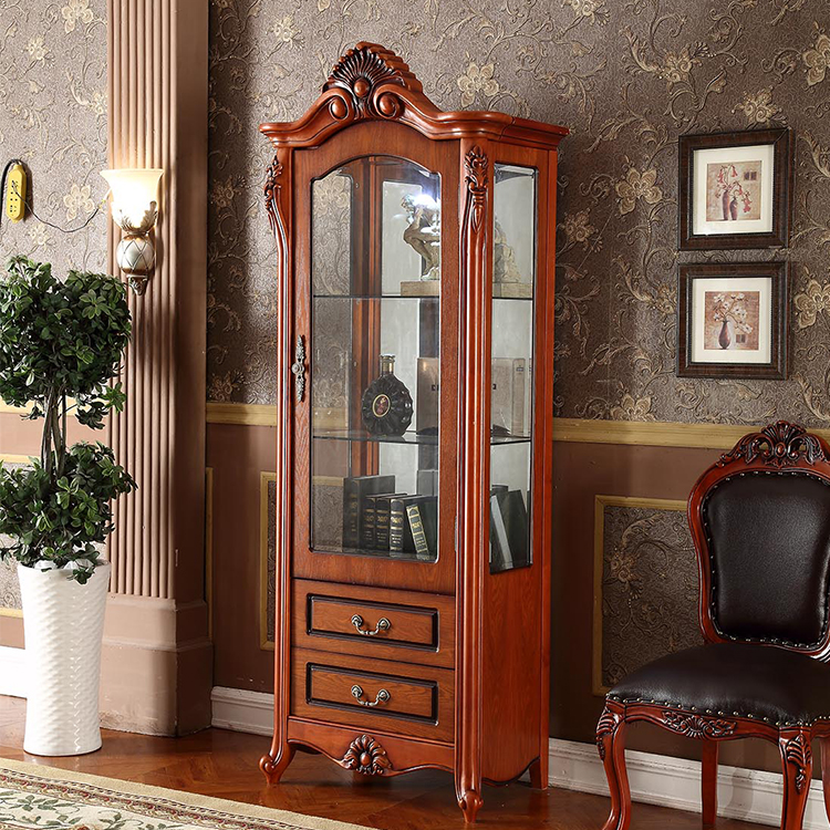 China Simple Design Cheap Dining Room Wine Display Cabinet