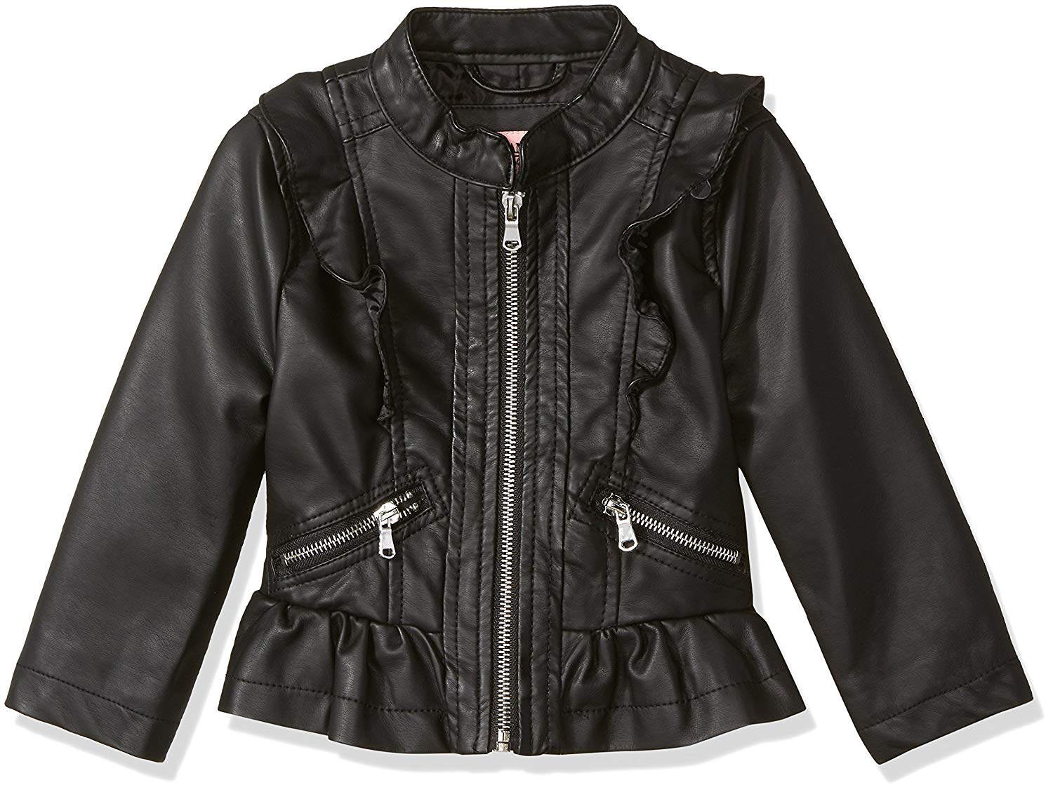 a54621fcdae Get Quotations · Urban Republic Toddler Girls  Faux Pu Jacket