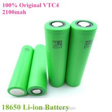 China Battery Factory Wholesale Recharge 3.7V Li-ion 18650 Batteries/18650 battery dimensions/li ion cell 2100mah 18650 battery