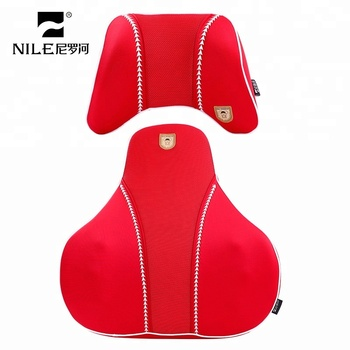 Customized car interior accessories ventilated memory foam pillow