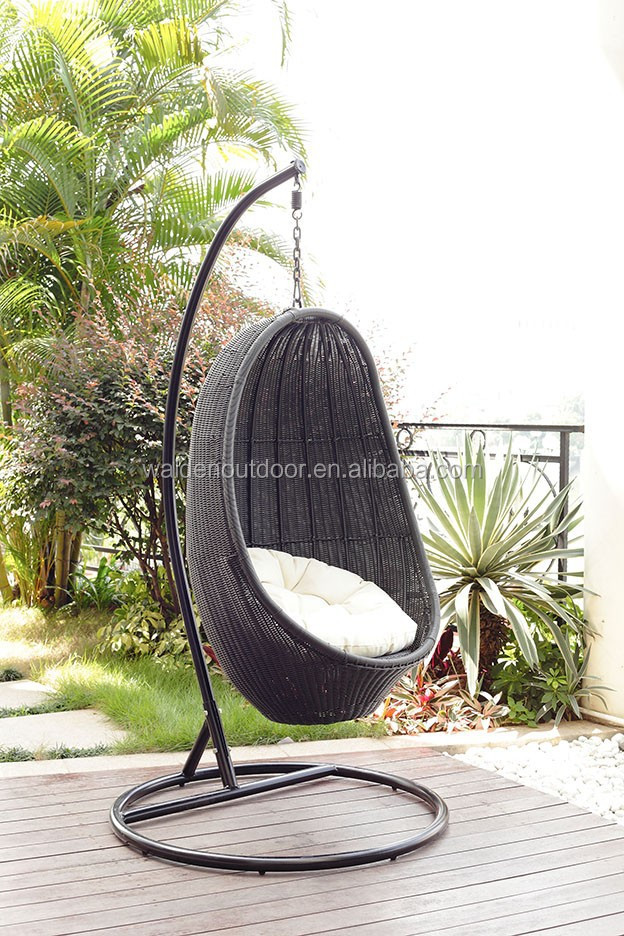 Outdoor Garden Furniture Rattan Hanging Egg Chair(dh-001) - Buy Swing Rattan  Egg Chair,Rattan Hanging Egg Chair,Outdoor Rattan Hanging Egg Chair Product  on ...