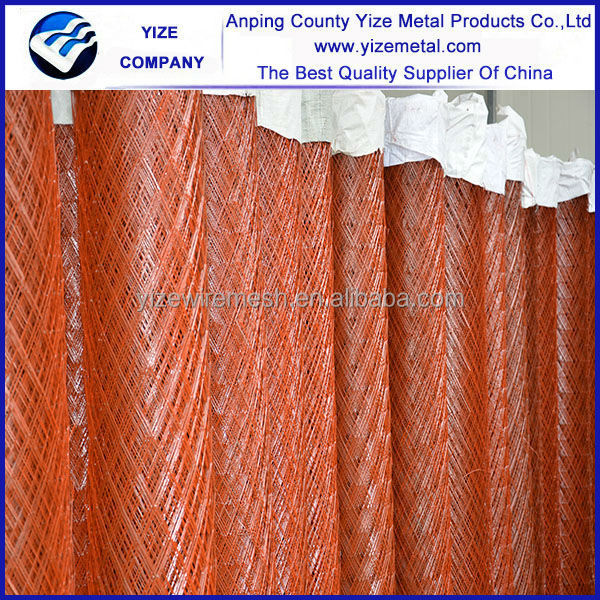 Finely processed anti-corrosive beautiful form finely processed expanded metal mesh(factory)