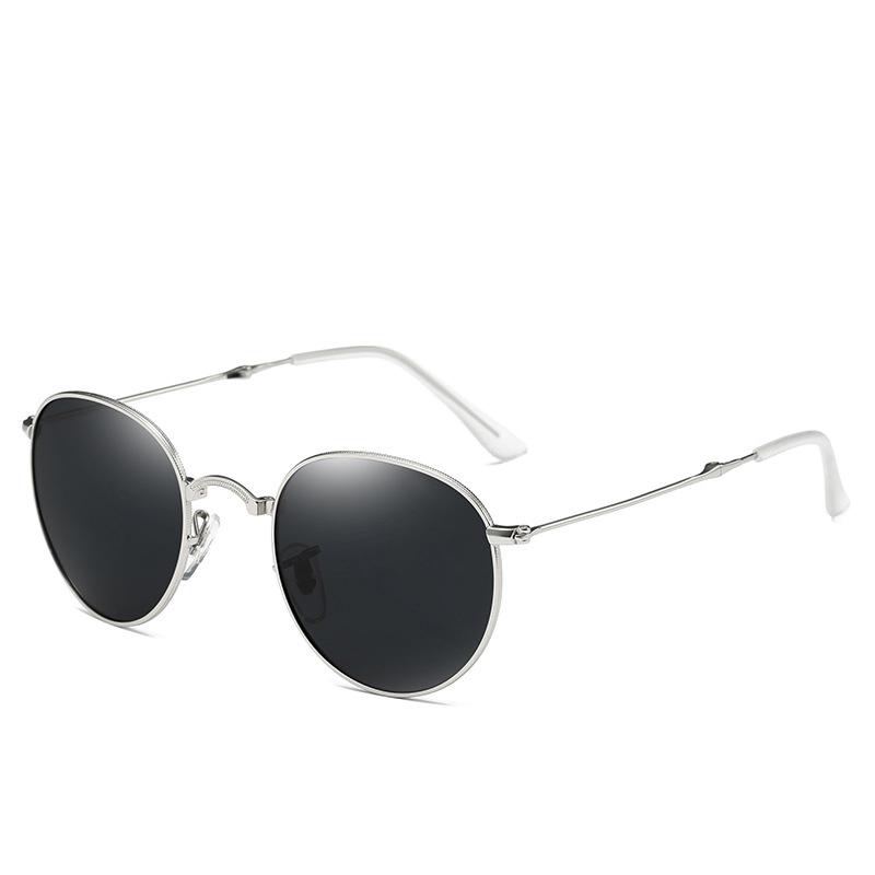 GUVIVI Sunglasses metal foldable classic polarized Sunglasses 2019, Mix