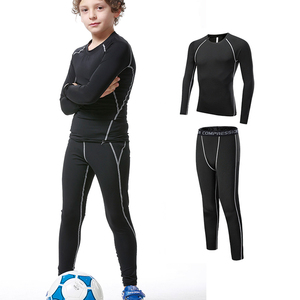 ASSUN OEM kids leggings sports wear clothes apparel, kids compression tights wear, kids fitness gym suits clothes