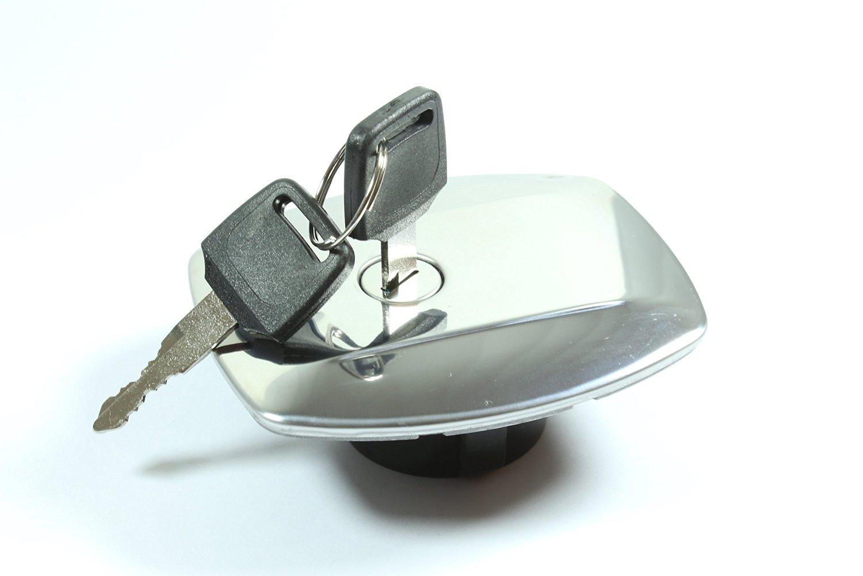 Suzuki Gas Fuel Tank Cap Petrol Locking Polished GS750 GS850 GS 750 850
