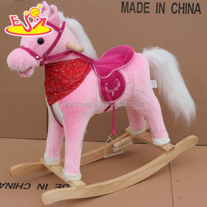 wholesale newly fashion children wooden horse riding toy for sale W16D067
