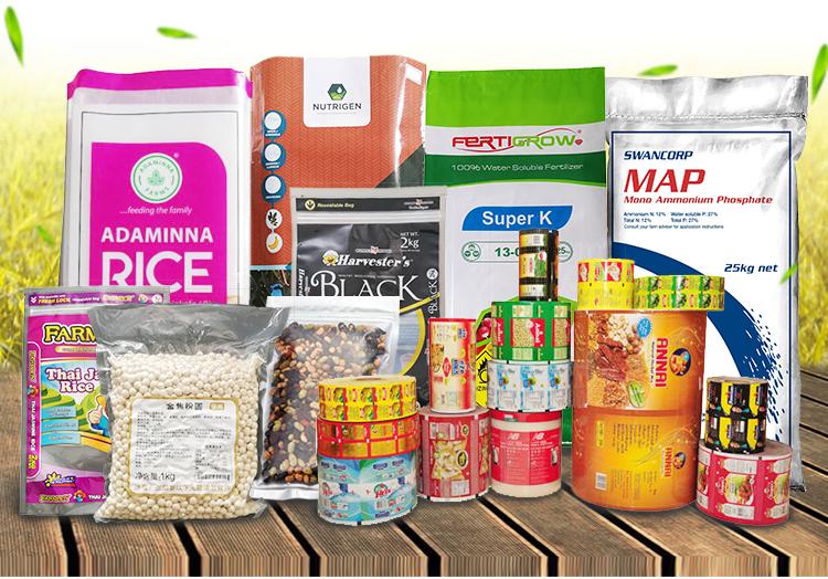 2018 Graan Sack Bag 50 kg Gerecycled Rijst Zakken Materiaal Tarwemeel, Pp Geweven Meel Sack, Maïs Tarwe graan Sacks