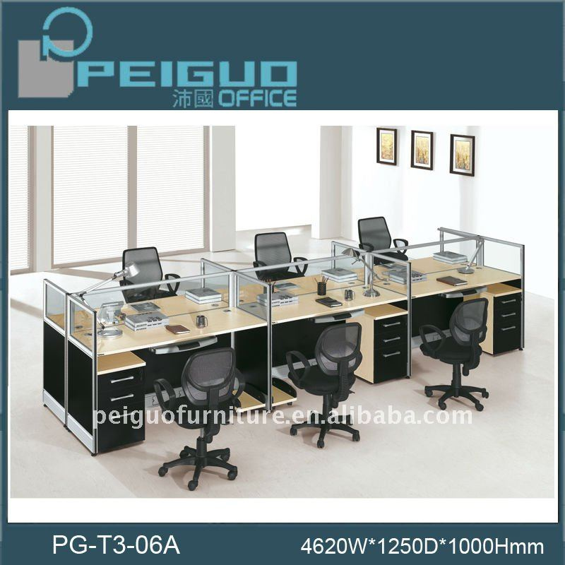 Pg-t3-06a Fashional Bank Furniture - Buy Modular Workstation ...