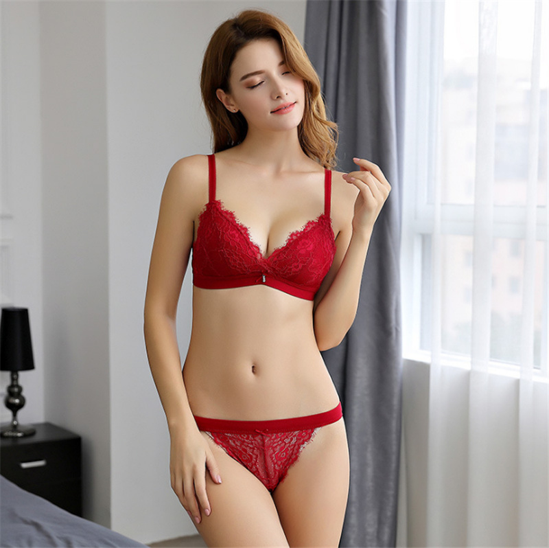 B1180 Latest Design 유럽 Women Bra Set Sexy 팬티