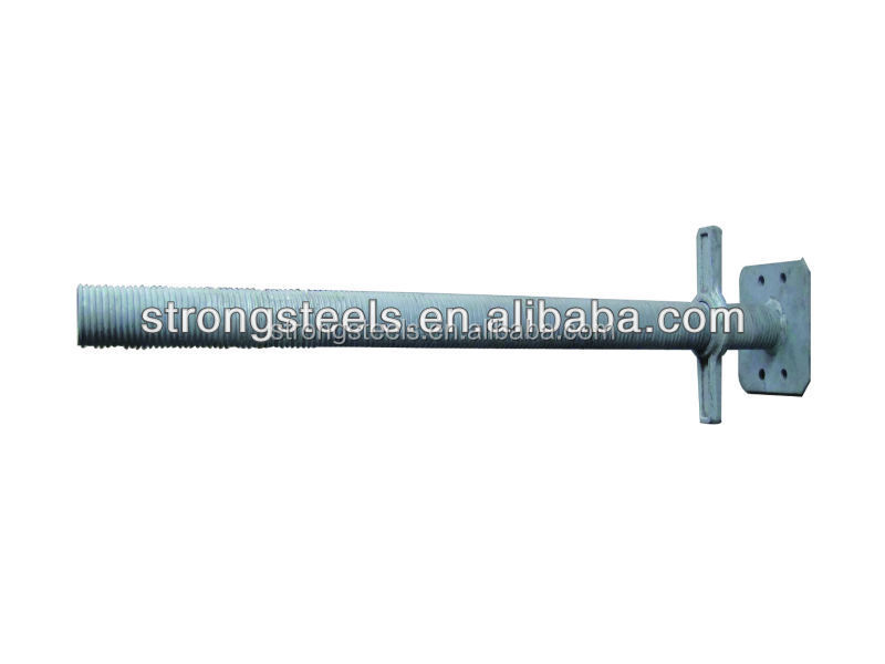Spanish adjustable scaffolding leg and scaffolding u head jack base