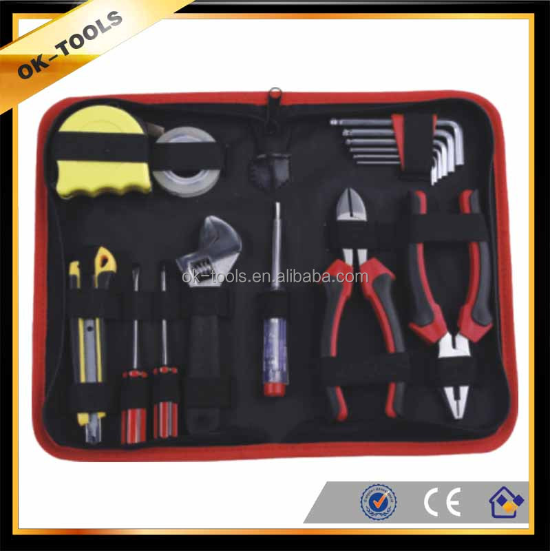new 2014 China supplier wholesale alibaba hand tool made in china 15pcs tool bag for plumbers