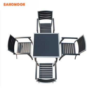 High environmental protection Polywood Table and Chair for Outdoor Furniture