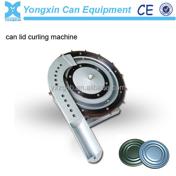 metal tin can end making machine