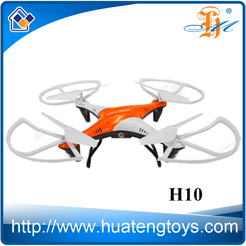 3D Flip RC Quadcopter with LED light 2.4G 4CH 6Axis Helicopter Headless Mode Drone One Key Return Remote