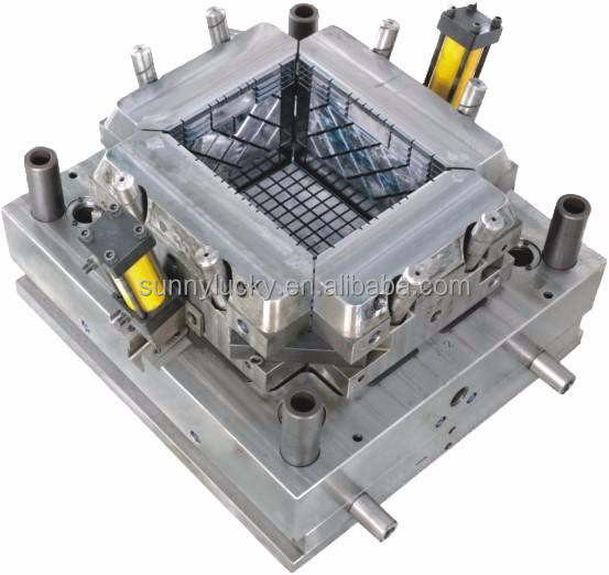 OEM&ODM plastic storage box injection mould customize mold making