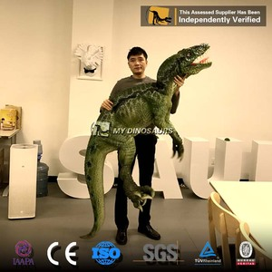 MY DINO P015 Jurassic World Toys Real Dinosaur Costume Shoulder Puppet